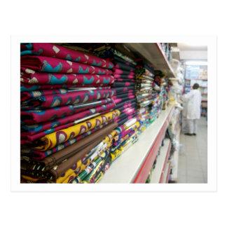 Textile Shop, Abuja Postcard