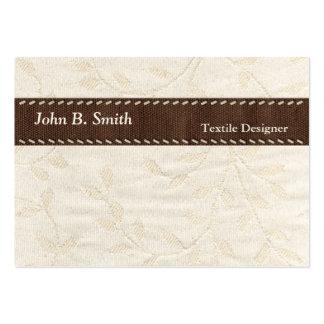 Textile Texture Business Card