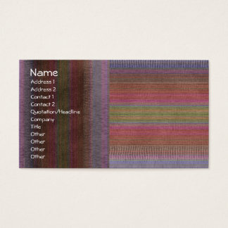 Textile Weaving Fabric Business Card