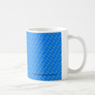 TexTiles Blue Texas Tessellation Coffee Mug