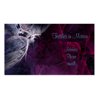 Textiles in Motion Business Card Template