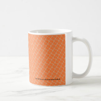 TexTiles Orange Texas Tessellation Coffee Mug