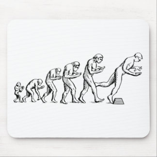 Texting Evolution Mouse Pad