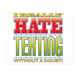 Texting Hate Postcard