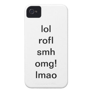 Texting / Internet slangs iPhone 4 Case-Mate Case