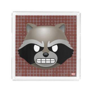 Texting Rocket Emoji Acrylic Tray
