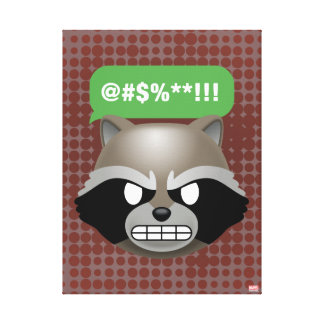 Texting Rocket Emoji Canvas Print