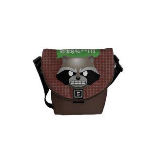 Texting Rocket Emoji Commuter Bags