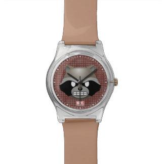 Texting Rocket Emoji Wristwatch