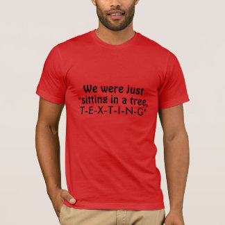 Texting T-Shirt