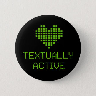 Textually Active - button