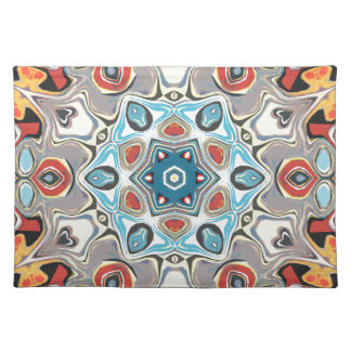 Textural Kaleidoscope Abstract Placemat