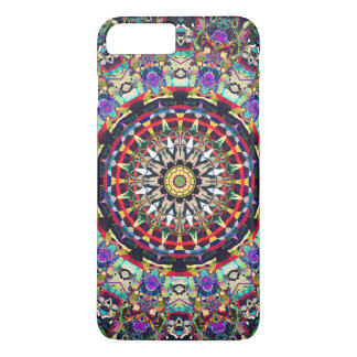 Textural Kaleidoscope of Colors iPhone 7 Plus Case
