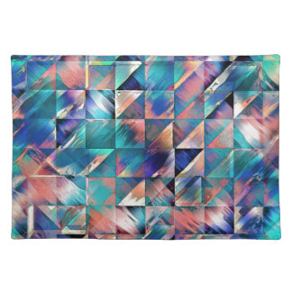 Textural Reflections of Turquoise Placemat