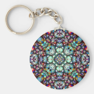 Textural Surfaces of Symmetry Key Ring
