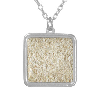 texture #2 silver plated necklace