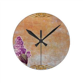 texture #6 round clock