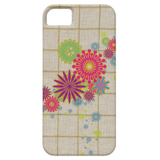 Texture #78 - Cotton Material Floral Pattern   iPhone 5 Case