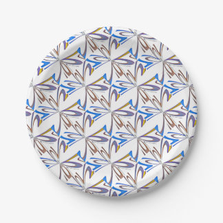texture  and abstract background paper plate