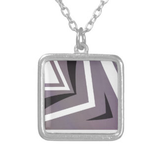 texture  and abstract background silver plated necklace