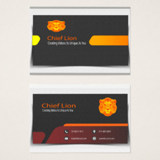 Texture based business card which is stylish.
