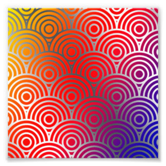 Texture Geometric Color Circle Swirls Colorful Art Photo