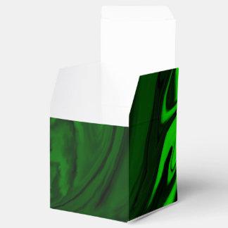texture green malachite favour box