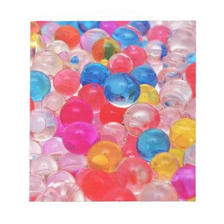 texture jelly balls notepad