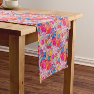 texture jelly balls short table runner