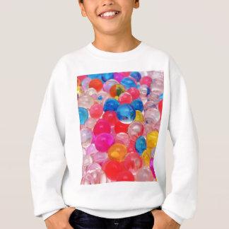 texture jelly balls sweatshirt