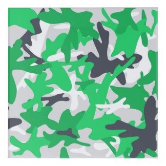 texture military camouflage green hunting acrylic wall art