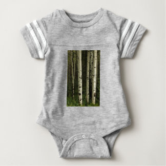 Texture Of A Forest Portrait Baby Bodysuit