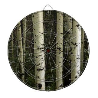 Texture Of A Forest Portrait Dartboard