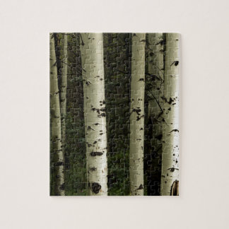 Texture Of A Forest Portrait Jigsaw Puzzle