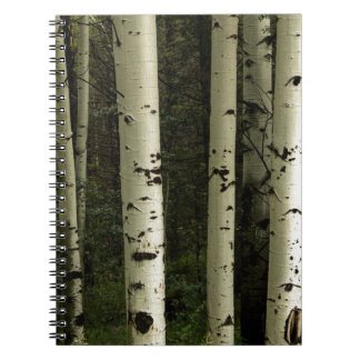 Texture Of A Forest Portrait Notebooks