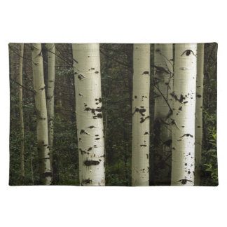 Texture Of A Forest Portrait Placemat