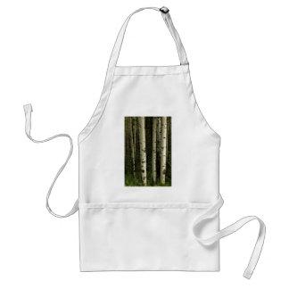 Texture Of A Forest Portrait Standard Apron