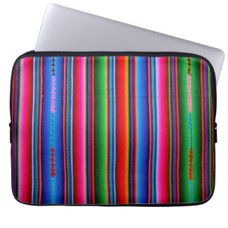 Texture Of Mexican Fabric Laptop Sleeve