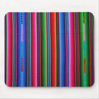 Texture Of Mexican Fabric Mouse Pad