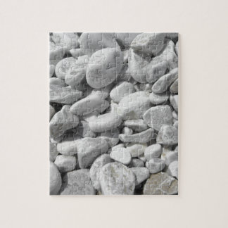 Texture of pebbles from a beach shore jigsaw puzzle
