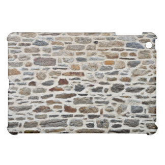 Texture Of Stone Wall With Cement iPad Mini Cases