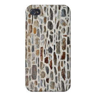 Texture Of Stone Wall With Cement iPhone 4/4S Cases