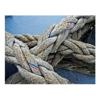 Texture:  Rope III Postcard