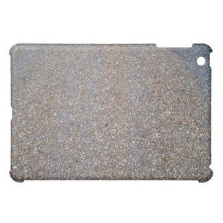 Texture sand with stones iPad mini case