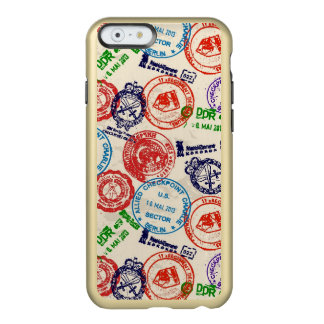 Texture with real stamps. incipio feather® shine iPhone 6 case