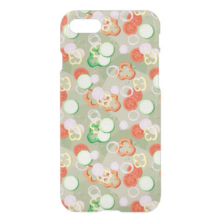 Texture With Slices Of Vegetables iPhone 7 Case