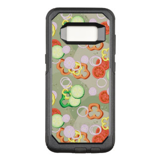 Texture With Slices Of Vegetables OtterBox Commuter Samsung Galaxy S8 Case