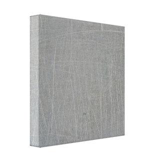 textured16 GRAY GREY CONCRETE TEXTURED BACKGROUND Canvas Print