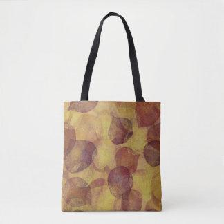 Textured Aspen Leaf Tote Bag