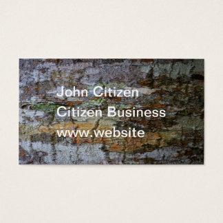 Textured Bark Business Card